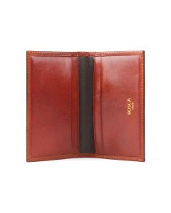 Cognac Old Leather Classic Calling Card Case
