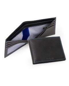 LA Dodgers Authentic Jersey Lined Leather Wallet