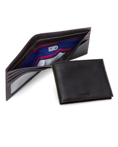 Texas Rangers Authentic Jersey Lined Leather Wallet