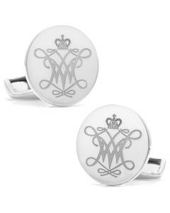 The College of William & Mary Sterling Silver Cufflinks
