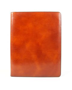 Amber Old Leather Classic Writing Pad Cover