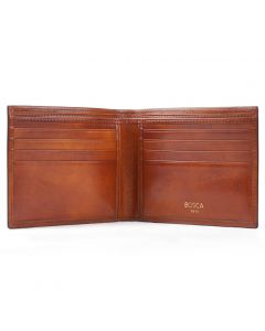 Amber Old Leather Classic 8 Pocket Wallet