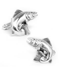 Leaping Salmon Cufflinks