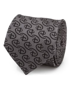 Disney Logo Gray Men's Tie