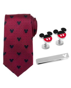 Mickey Mouse Red Dot Necktie Gift Set