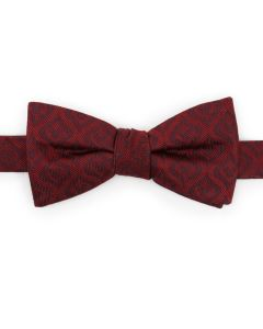 Mickey Mouse Holiday Maroon Bow Tie