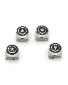 Captain America Shield Stainless Steel Studs