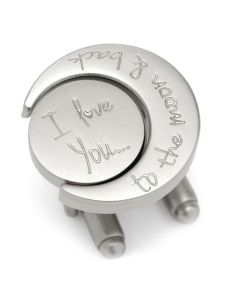 Love You to the Moon and Back Cufflinks