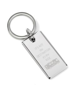 Destination Engraved Key Chain