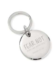 Fear Not Isaiah 41:10 Key Chain