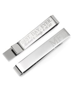 Best Day Ever Engravable Tie Bar