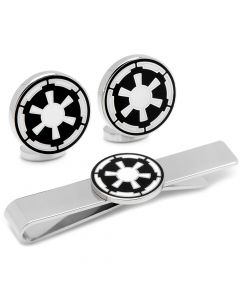 Imperial Empire Cufflinks and Tie Bar Gift Set