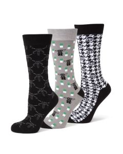 The Mandalorian 3 Pair Socks Gift Set